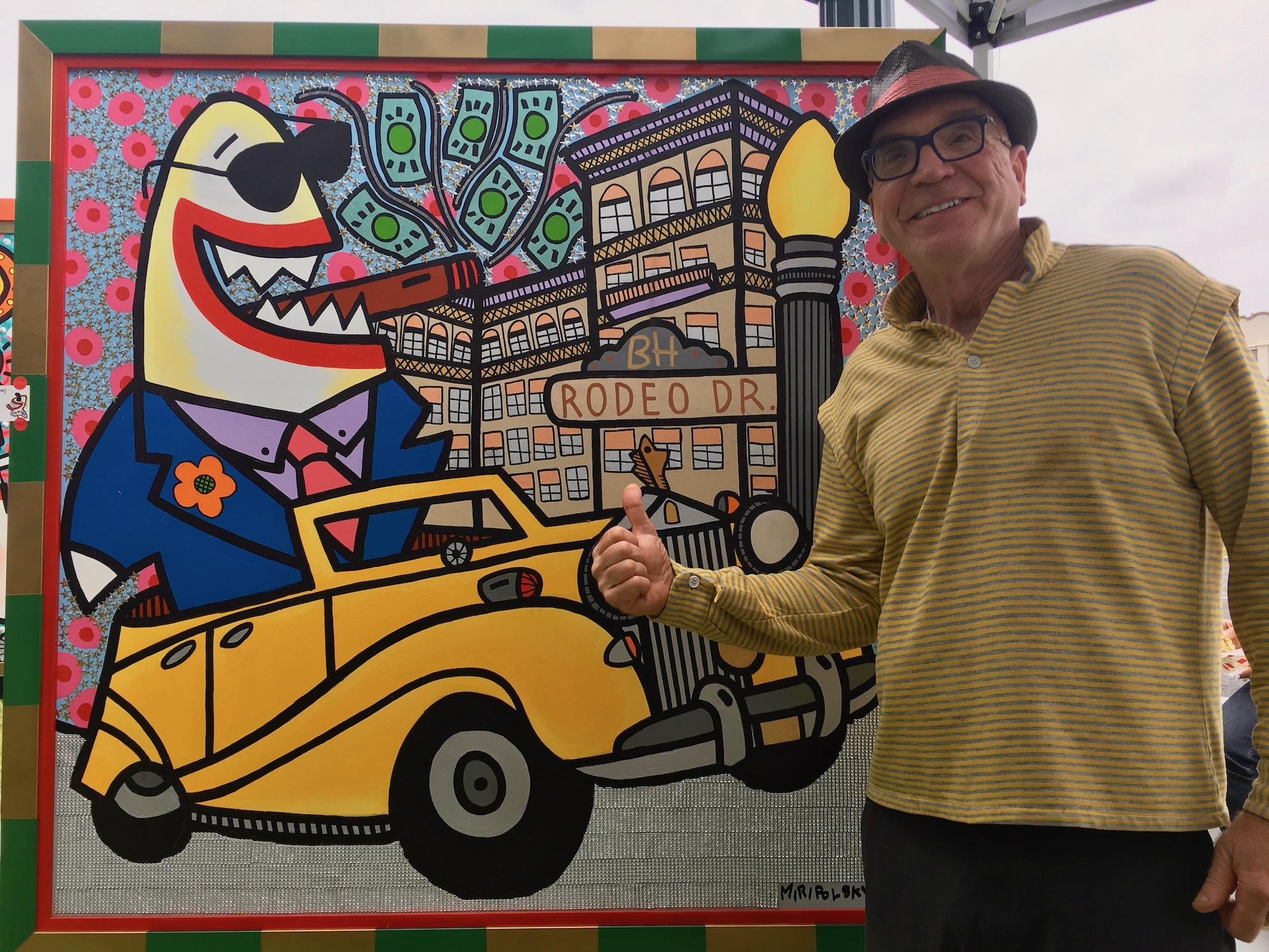 andre miripolsky artist beverly hiils art show